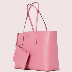 Kate Spade Tote Molly Purse Blusterry Pink NEW
